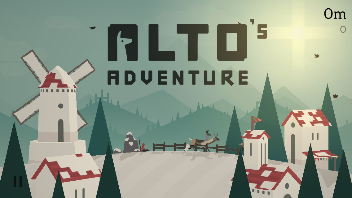 Alto's Adventure Review [iOS]