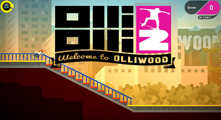 OlliOlli 2 : Welcome to Olliwood – Review [PSN, Xbox Live]