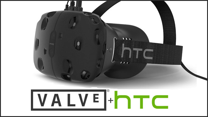 HTC and  Valve Reveal The Vive VR headset