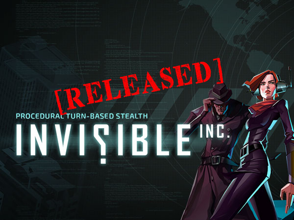Invisible Inc. officially released
