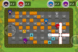 bomberman remake ios game