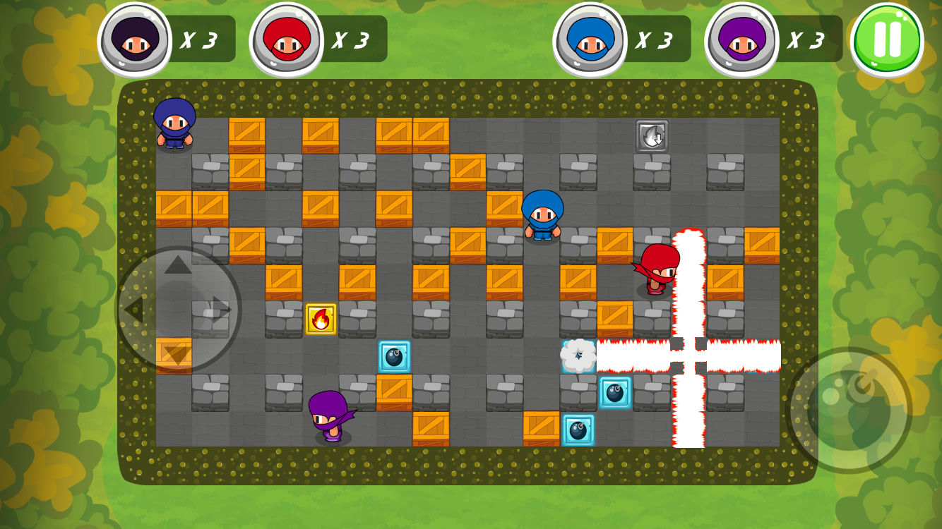 A multiplayer Bomberman remake coming to iOS that doesn't suck