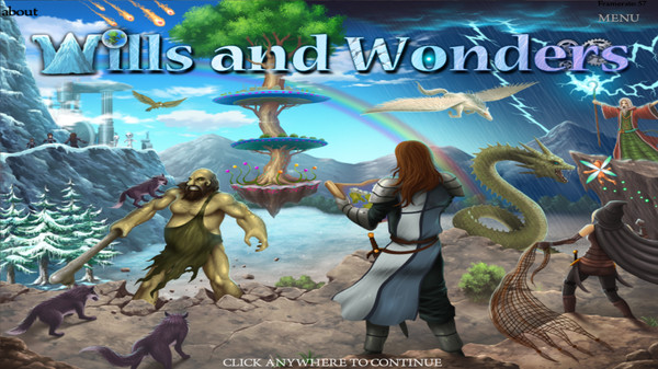 Wills and Wonder – early preview
