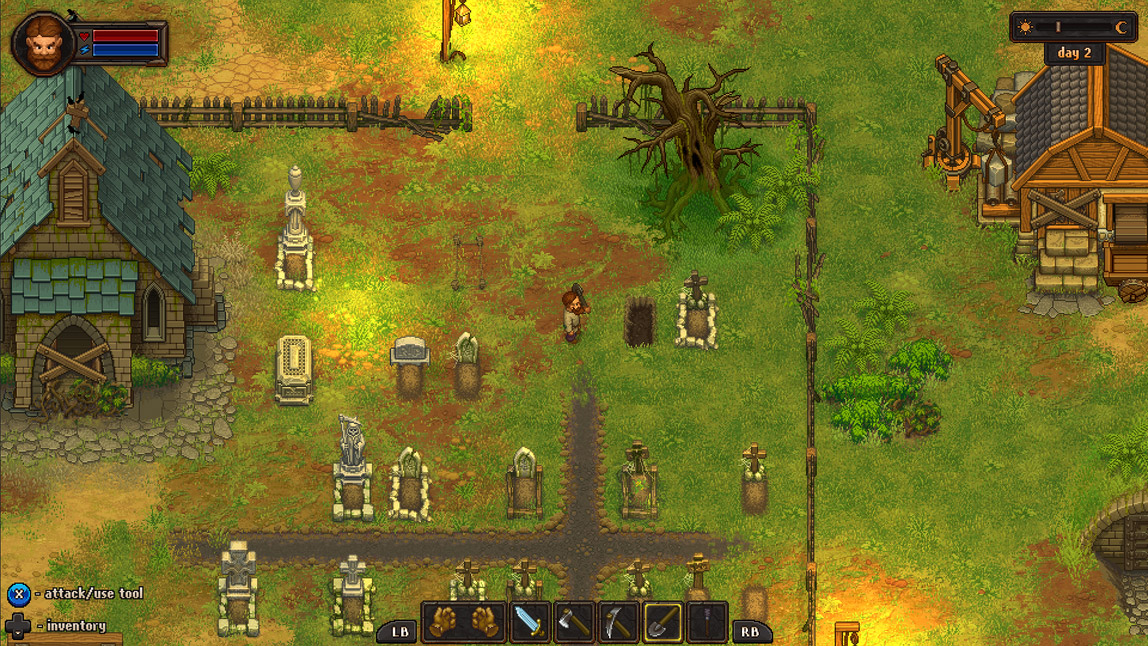 Graveyard Keeper a cemetery management sim from the makers of Punch Club