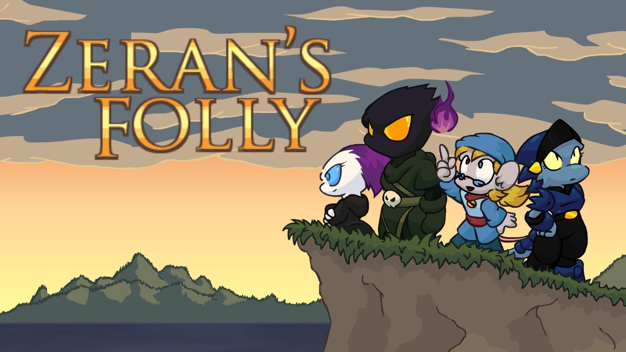 Let's Play Zeran's Folly! A zany Metroidvania steeped in dark twisted humour.
