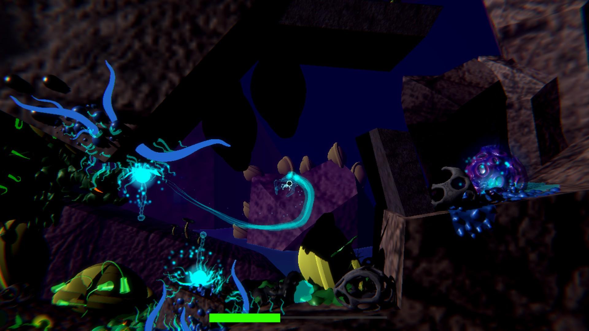 Ectolibrium: A 2.5D platformer about strange alien life