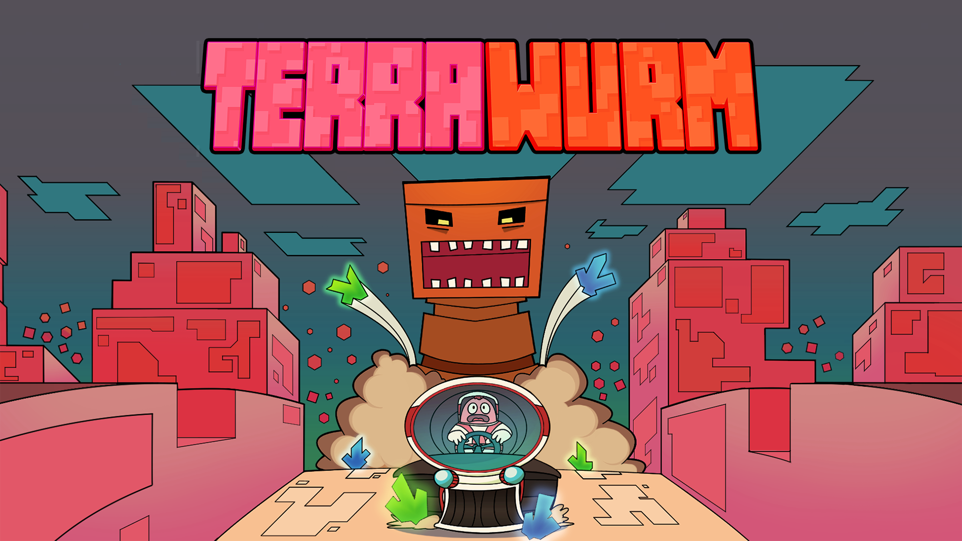Terrawurm indie game preview