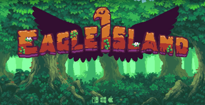 Eagle Island Preview – A pixel art styled metroidvania platformer about falconry