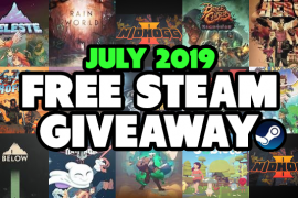 steam key giveaway