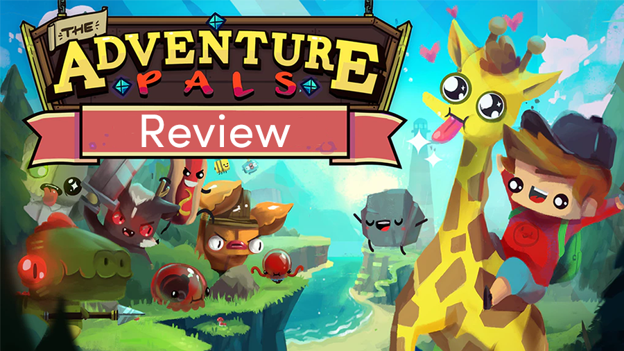 The Adventure Pals Preview, a platformer about friendship, exploration, and riding your giraffe.