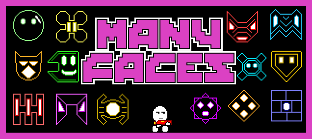 Many faces – An Arcade Shooter Straight from the Retro era!
