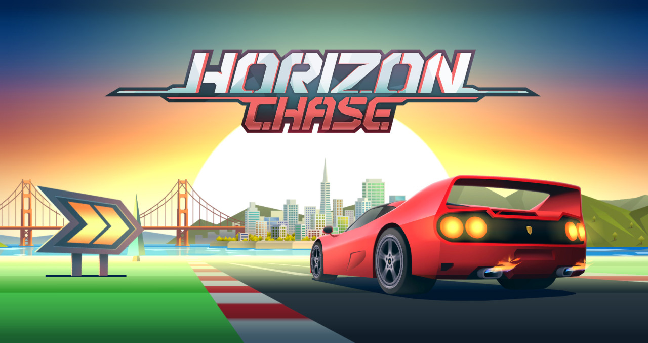 Horizon Chase – The Retro Racer is back!