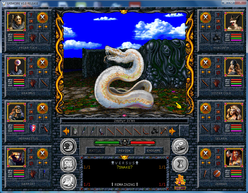 Grimoire – an indie game 20 years in the making