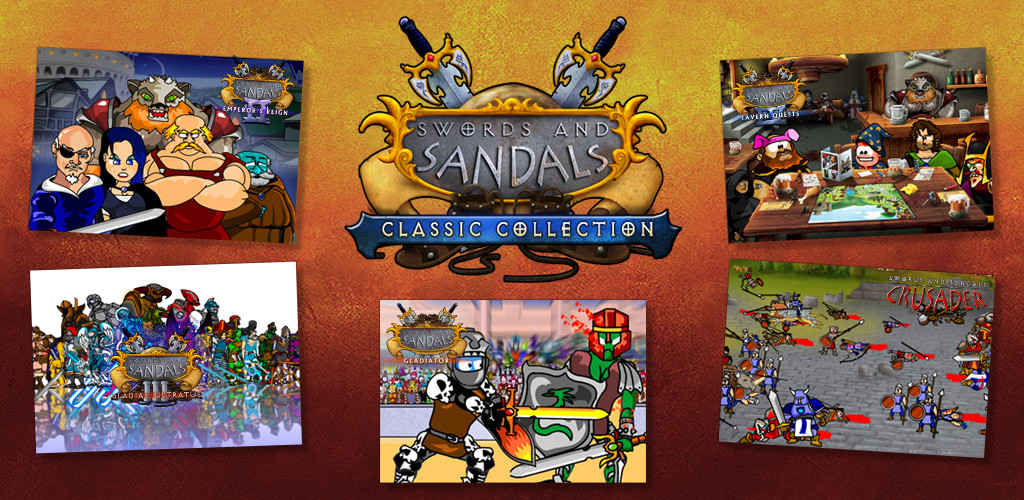 Swords and Sandals Classic Collection Released!