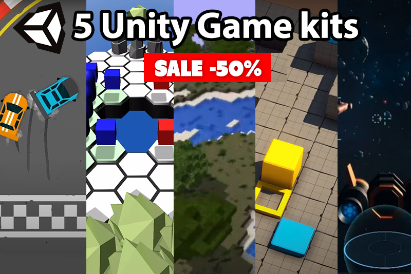 5 Unity game Kits worth grabbing this spring sale
